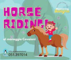Horse Riding Summer Camp 2021 Pingu's English Bologna Mazzini